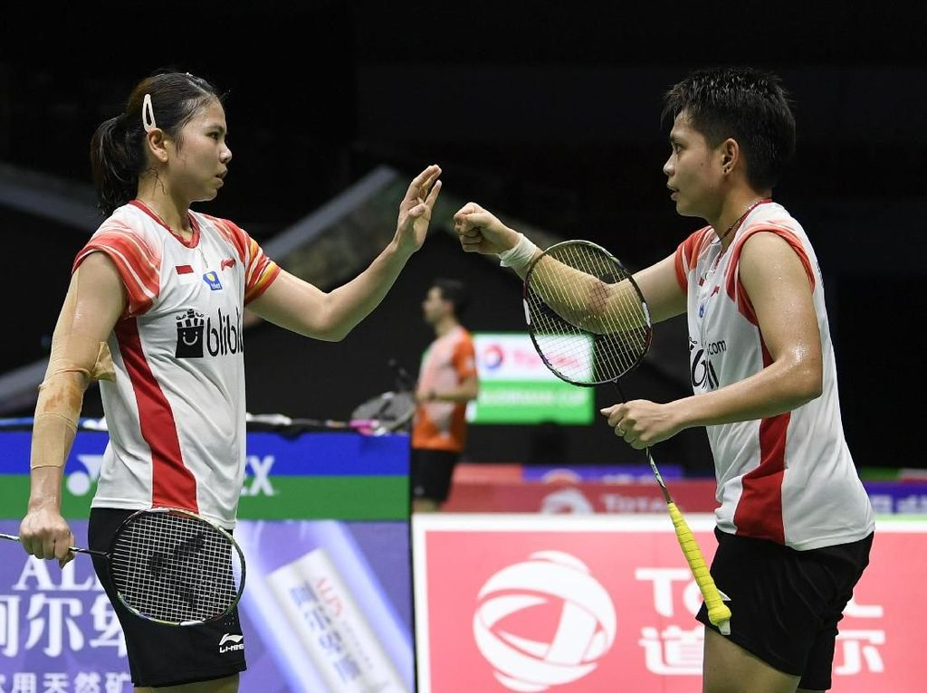 Indonesia selanjutnya akan menghadapi Denmark di partai kedua, Rabu (22/5/2019) mulai pukul 17.00 WIB.