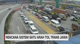 VIDEO: Rencana Sistem Satu Arah Tol Trans Jawa