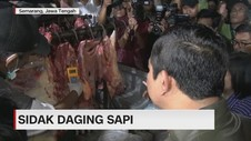 VIDEO: Sidak Daging Sapi Glonggongan