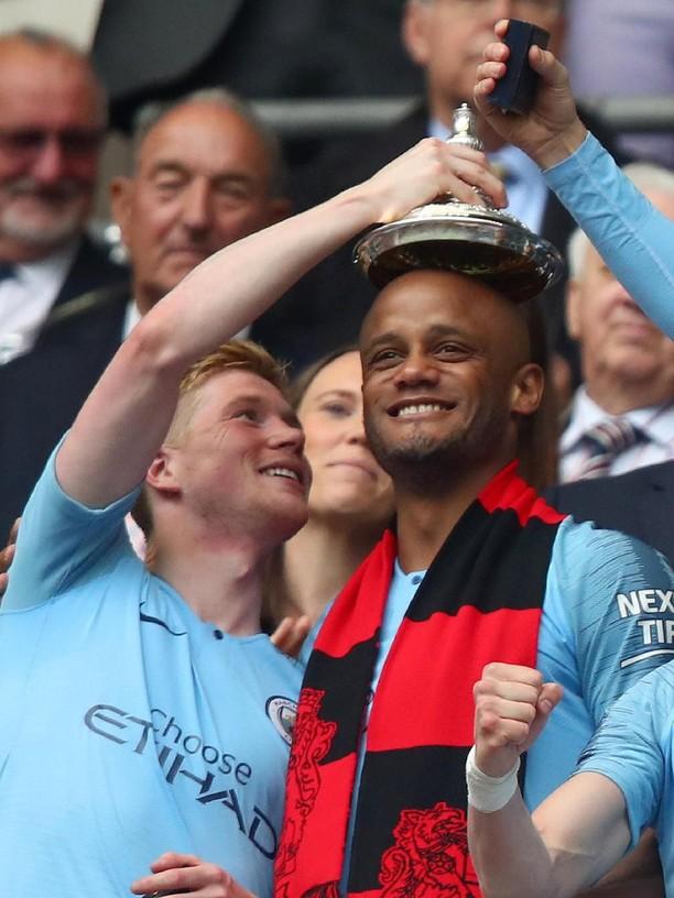 Manchester City Pesta di Wembley