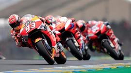 Hasil MotoGP Prancis 2019: Marquez Kalahkan Duo Ducati