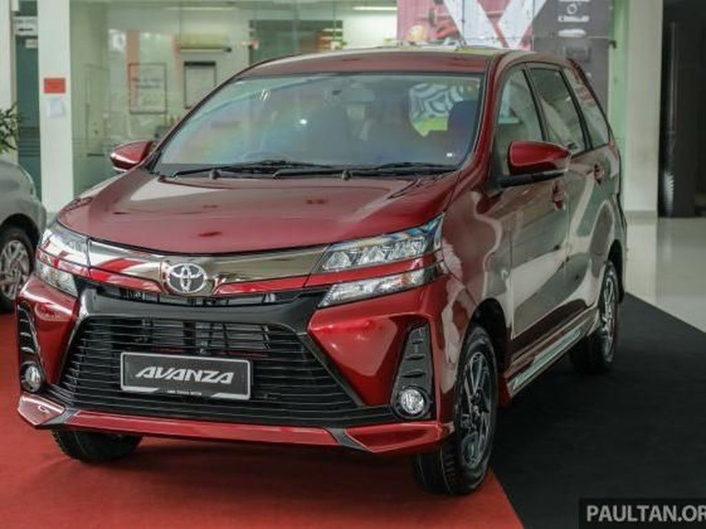 Meluncur di Indonesia awal Januari 2019, distributor Toyota di Malaysia, UMW Toyota Motor (UMWT) akhirnya merilis Avanza berwajah baru.Foto: Paultan
