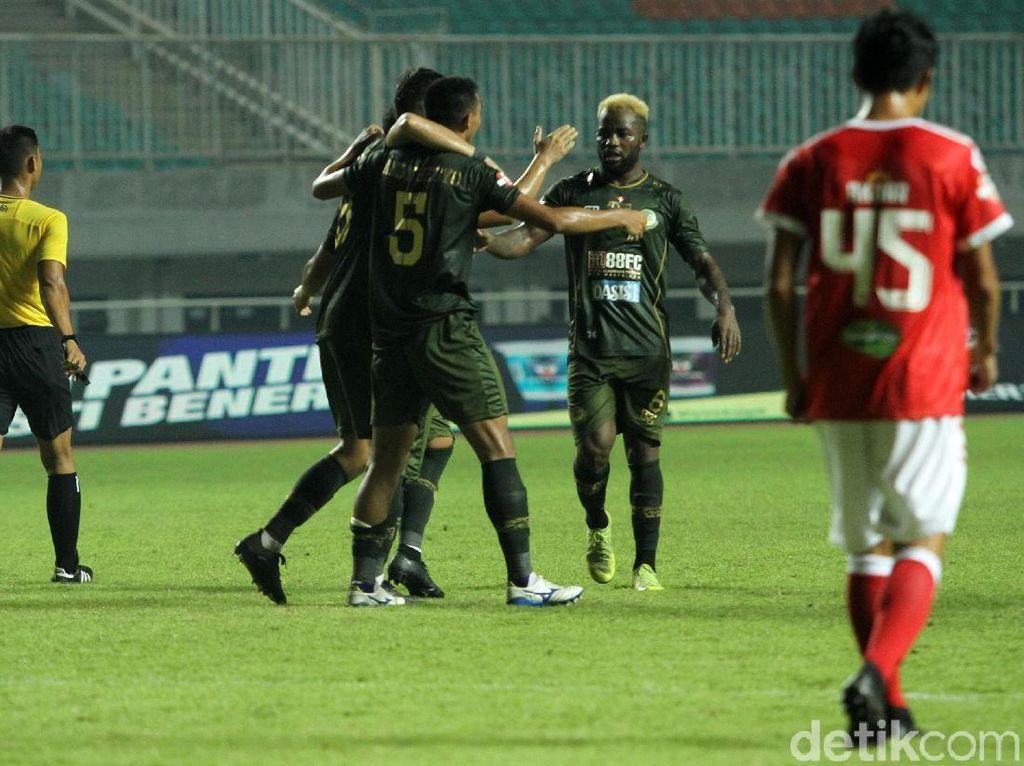 Andy Setyo Nurgoho turut menyumbangkan satu gol untuk Tira Persikabo. Gol itu dicetak di menit ke-79.