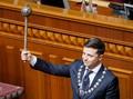 Dilantik Jadi Presiden, Pelawak Bubarkan Parlemen Ukraina