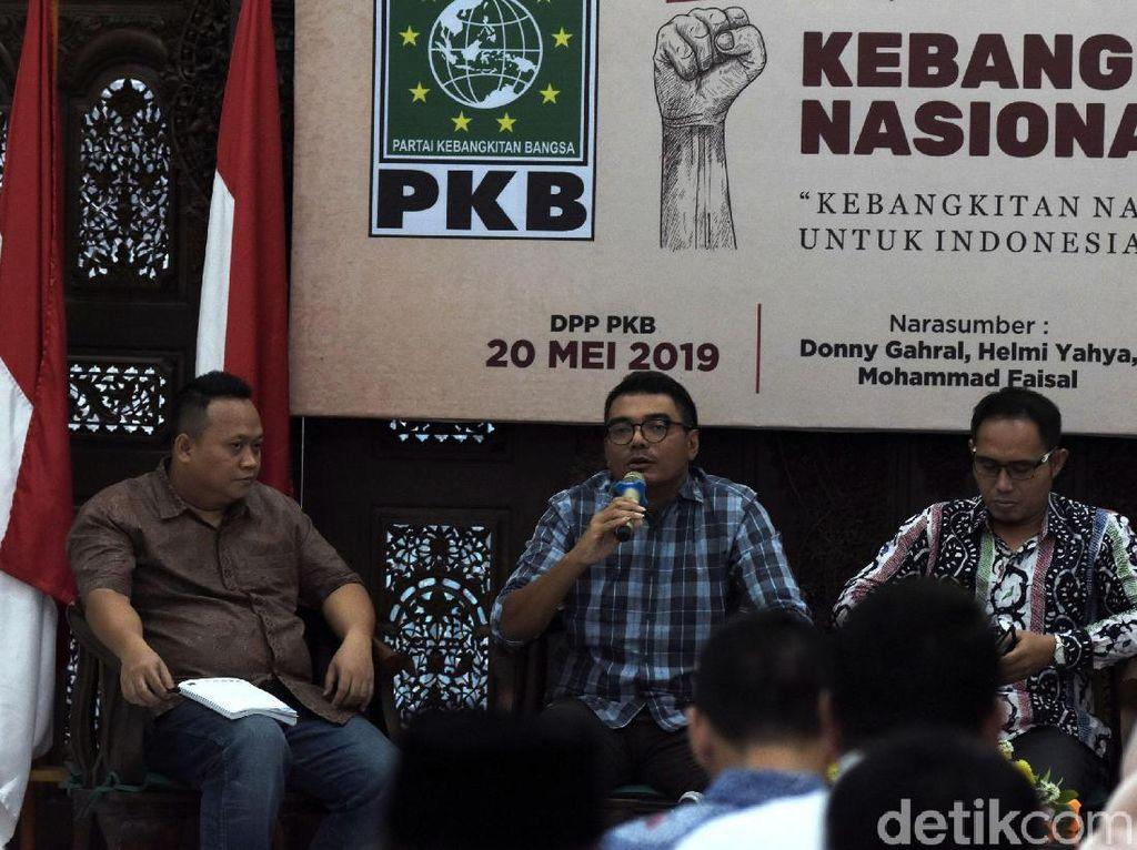 Diskusi tersebut mengangkat tema Kebangkitan Nasional untuk Indonesia Berdikari.