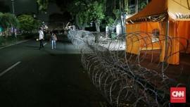 Pasca Kerusuhan 22 Mei, Jalan Depan KPU Masih Ditutup