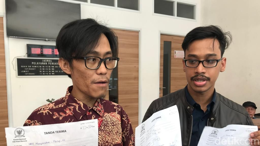 Komnas HAM Bersedia Jadi Saksi Ahli Sidang Gugatan TT 'Polisi Gay'
