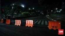 Aparat Tutup Jalan Imam Bonjol, Panser Marinir Berseliweran