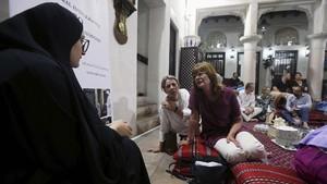 FOTO: Turis Memaknai Ramadan di Dubai