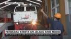 VIDEO: Perbaikan Kereta Api Jelang Arus Mudik