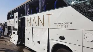 Bus Wisata di Mesir Jadi Sasaran Bom, Tak Ada Korban WNI