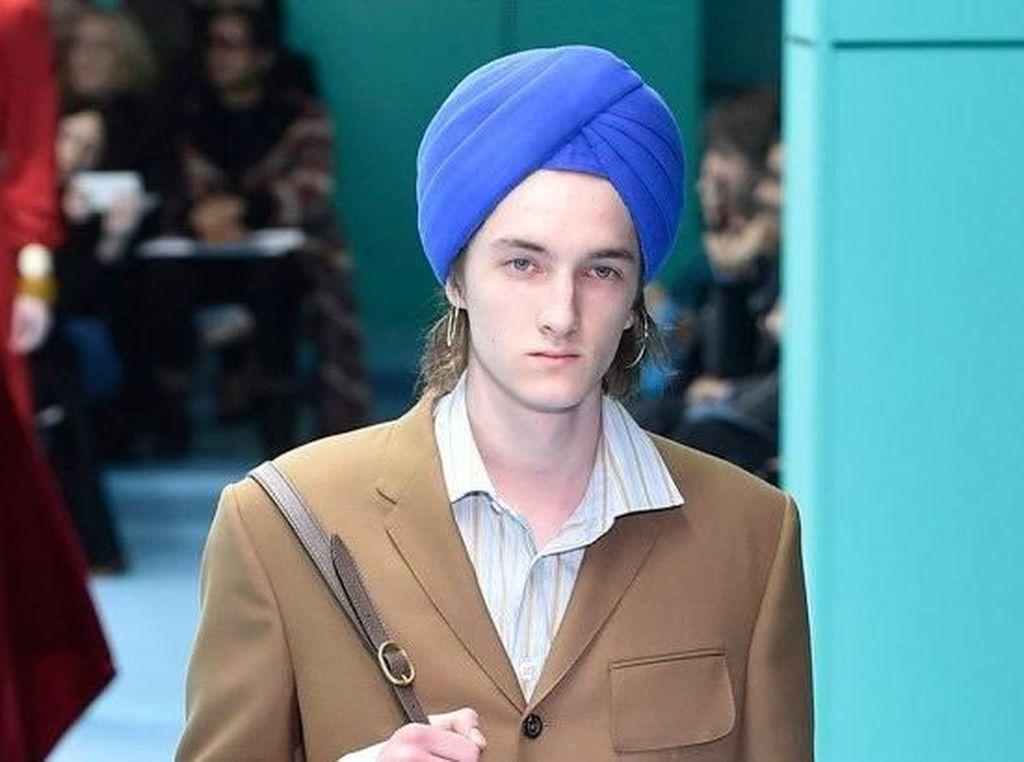 Sembarangan Rilis Koleksi Turban, Gucci Diprotes Komunitas Sikh