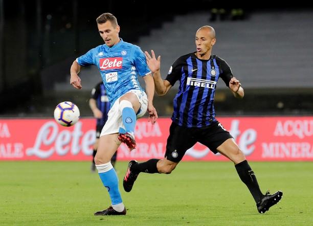 Napoli Gilas Inter Milan