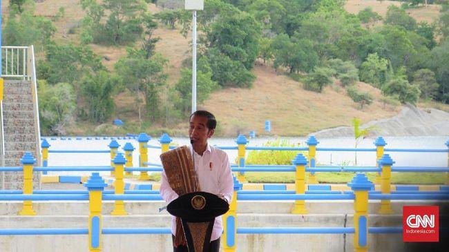 Tak Cuma Tampung Air, Jokowi Ingin Waduk Beri Manfaat Ekonomi