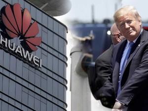 Trump Deklarasikan Darurat Nasional & Terguncangnya Huawei