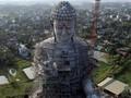 FOTO: Patung Buddha Raksasa di Pagoda Khai Nguyen