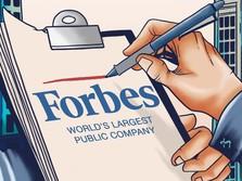 BRI Pimpin 6 Perusahaan RI Masuk Global 2000 dari Forbes