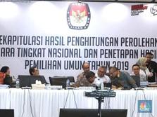KPU Tetapkan Jokowi-Ma'ruf Jadi Pemenang Pilpres 2019