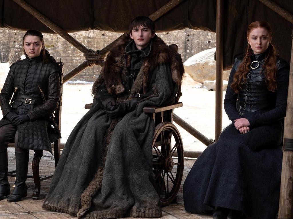 Serial Game of Thrones telah berakhir dengan ditutup pada episode 6 di musim ke-8.Dok. HBO