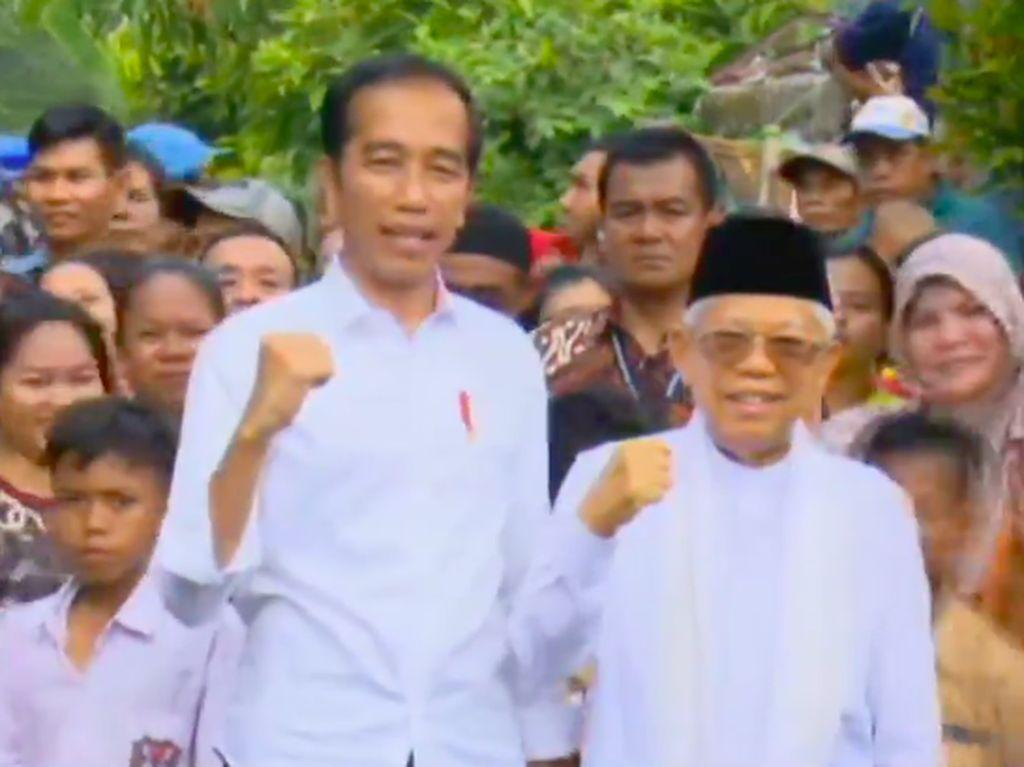 Pidato Kemenangan Jokowi di Depan Para Bunda Kampung Deret