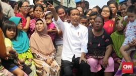 Pidato Kemenangan Jokowi: 100 Persen Keadilan untuk Rakyat