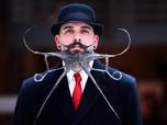 Unik, Begini Kontes Jenggot dan Kumis Tak Biasa di Belgia