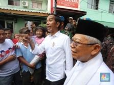 Barengan! Jokowi Pidato Kemenangan, Prabowo Pidato Penolakan