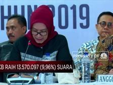 Perolehan Suara Parpol di Pemilu 2019