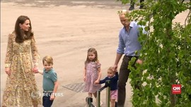 VIDEO: Aksi Gemas Anak-anak Pangeran William-Kate di Taman