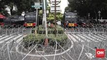 Polisi Izinkan Massa Aksi di Depan KPU hingga Usai Tarawih