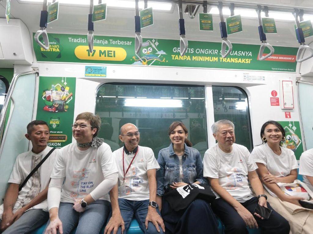 Lewat pengalaman ini mereka mengajak masyarakat untuk menggunakan MRT karena merupakan moda transportasi yang tepat waktu, ramah lingkungan, cepat sampai tujuan. Istimewa
