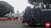 Status siaga satu di Jakarta itu diedarkan melalui Surat Telegram Kapolri Jenderal Tito Karnavian kepada seluruh jajarannya yang bernomor 281/V/OPS.1.1.1/2019. (CNN Indonesia/Adhi Wicaksono)