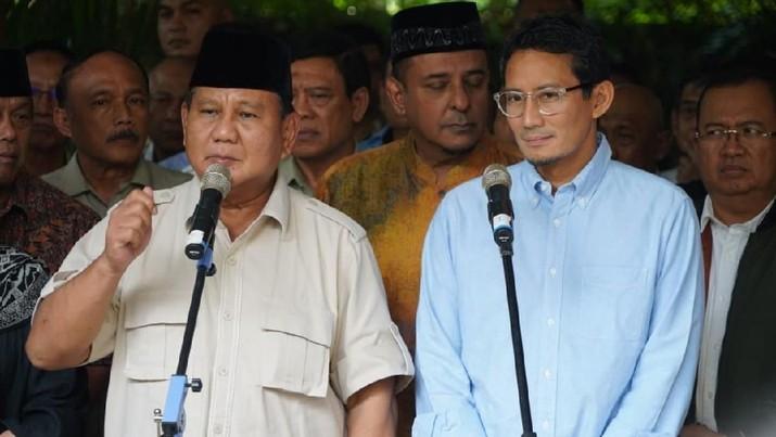Untuk TNI-Polri & Pendukung 02, Prabowo: Hindari Kekerasan!