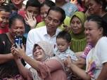 Saat Jokowi-Ma'ruf Pidato Kemenangan di Depan Emak-emak