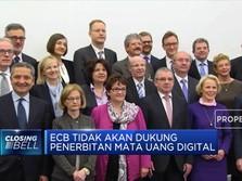 ECB: Cryptocurrency Bukan Ancaman Keuangan