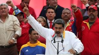 Maduro Rayakan Setahun Kemenangan Kontroversialnya di Pemilu