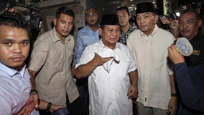 Kalah, Prabowo Tetap Tersenyum Diteriaki Anak Kecil Presiden