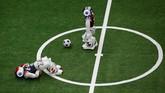 Ketiga negara ini mengembangkan, merakit, hingga memprogram sendiri robot-robot ini.(REUTERS/Jason Lee)