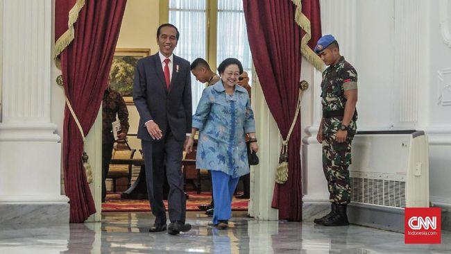 Usai Pengumuman Rekap KPU, Jokowi Bertemu Megawati di Istana