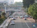Demo 22 Mei, Pusat Belanja Sarinah Thamrin Tutup