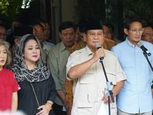 Demo 22 Mei, Prabowo: TNI-Polri Jangan Tembaki Rakyat