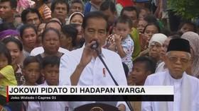 VIDEO: Jokowi Pidato di Hadapan Warga Kampung Deret