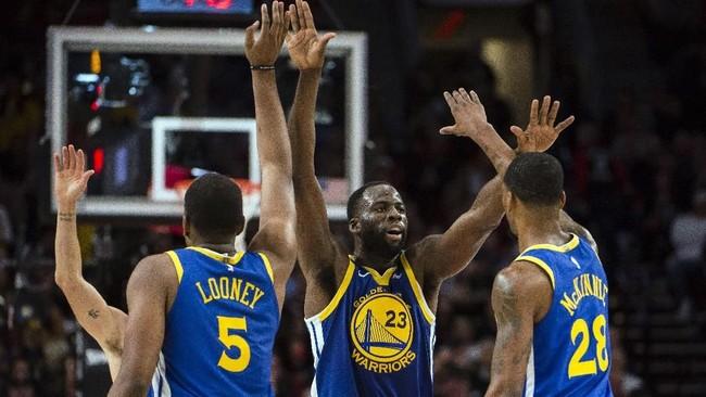 Golden State Warriors Lima Kali Beruntun ke Final NBA