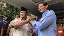 Sejumlah Massa dan Mobil Komando Mulai Datangi Rumah Prabowo
