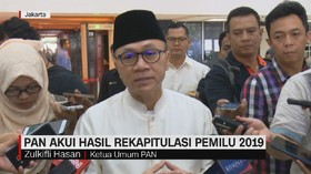 VIDEO: PAN Akui Kemenangan Jokowi-Ma'ruf Amin
