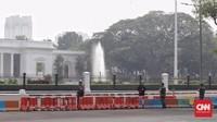 Akses Sekeliling Istana Ditutup Jelang Putusan Pilpres di MK