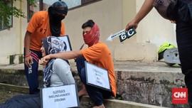 Polisi Gelar Rekonstruksi Pembunuhan Calon Pendeta di OKI