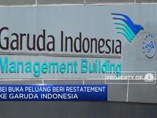 BEI Buka Peluang Restatement bagi Garuda Indonesia