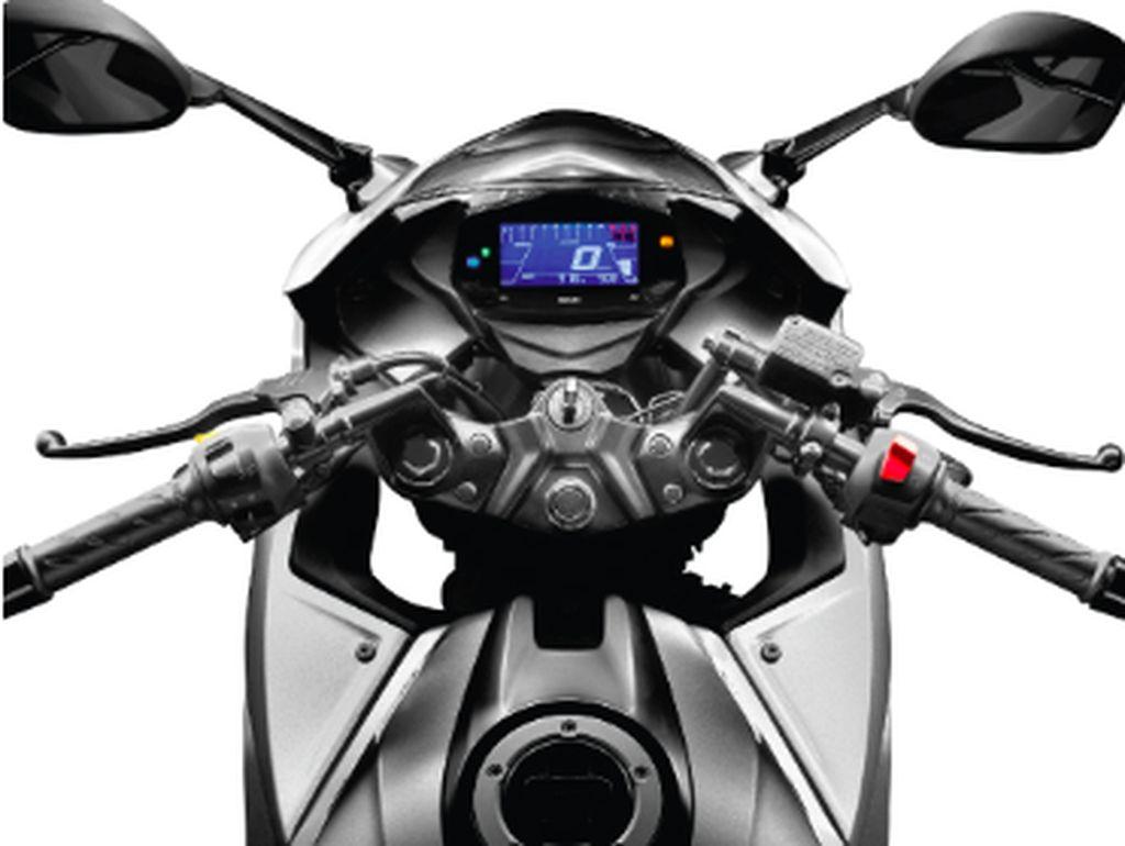 Harga motor 250 cc Suzuki di India ini terbilang murah, hanya 170.655 rupee atau sekitar Rp 35 juta di showroom India. Foto: dok. Suzuki India