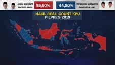VIDEO: Perbandingan Suara Jokowi dan Prabowo